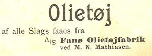 fanoe-olietoejfabrik