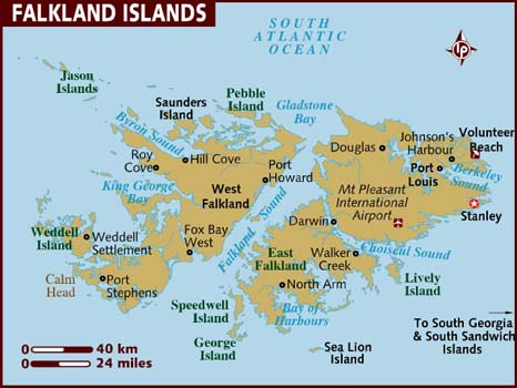 map of falkland-islands
